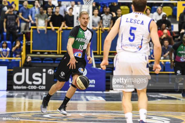 Arnaud Kerckhof of Boulazac during the Pro A match between Levallois Metropolitans and Boulazac at Salle Marcel Cerdan on October 21 2017 in Paris...