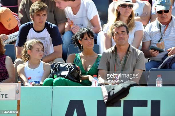 Arnaud LAGARDERE et son amie JADE FORET Roland Garros 2011 Photo Dave Winter / Icon Sport
