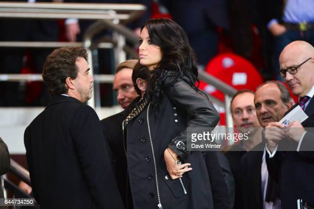 Arnaud LAGARDERE / Jade FORET Paris Saint Germain / Chelsea 1/4Finale Aller Champions League Photo Dave Winter / Icon Sport