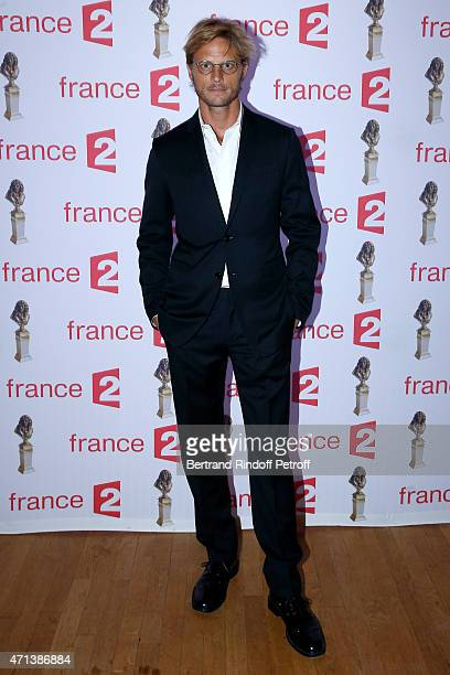 Arnaud Lemaire attends the 27th 'Nuit Des Molieres' 2015 Held at Folies Bergere on April 27 2015 in Paris France