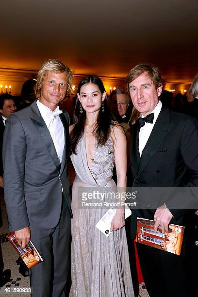 Arnaud Lemaire Star Dancer Alice Renavand and Prince Charles Henri de Lobkowicz attend Arop Charity Gala with 'Ballet du Theatre Bolchoi' Held at...