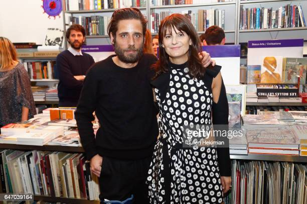 Arnaud Lievin and MarieAmelie Sauve attend the launch and book signing of Mastermind Magazine as part of Paris Fashion Week Womenswear Fall/Winter...