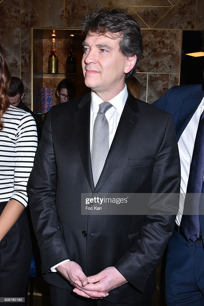 Arnaud Montebourg attends the 'Baby Brand' Awards 2016 Ceremony At Cafe Francais on January 19, 2016 in Paris, France.