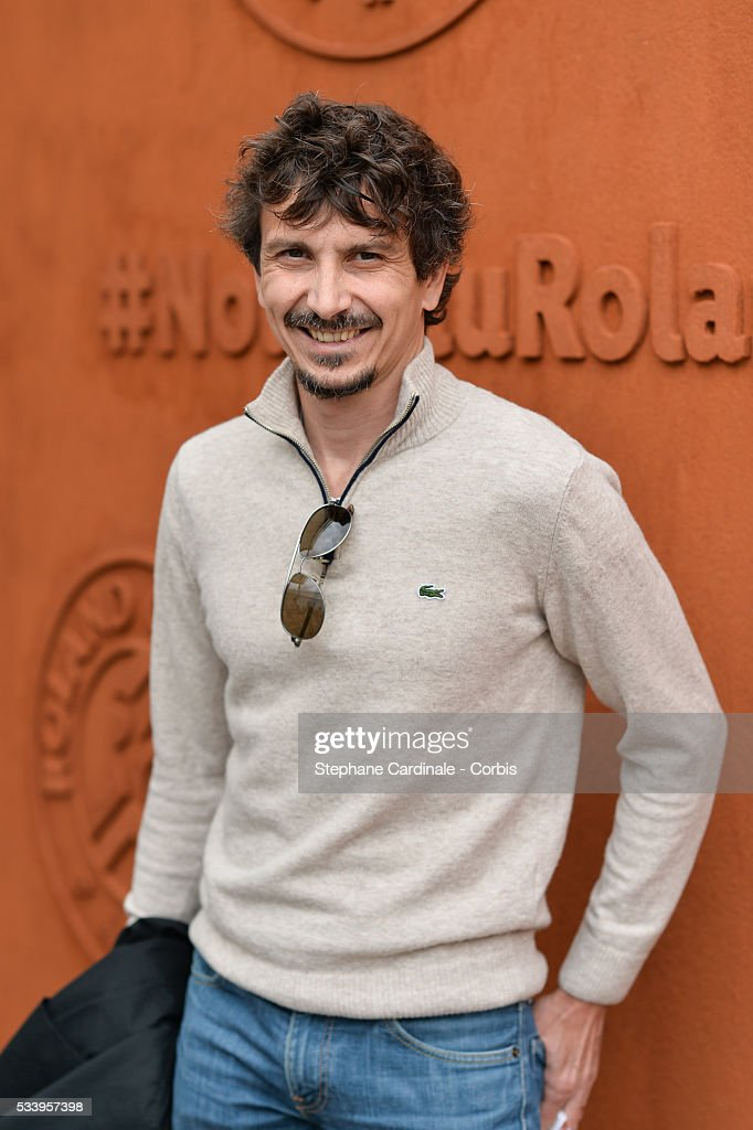 Arnaud Tsamere attend the 2016 French tennis Open day 3, at Roland Garros on May 24, 2016 in Paris, France.