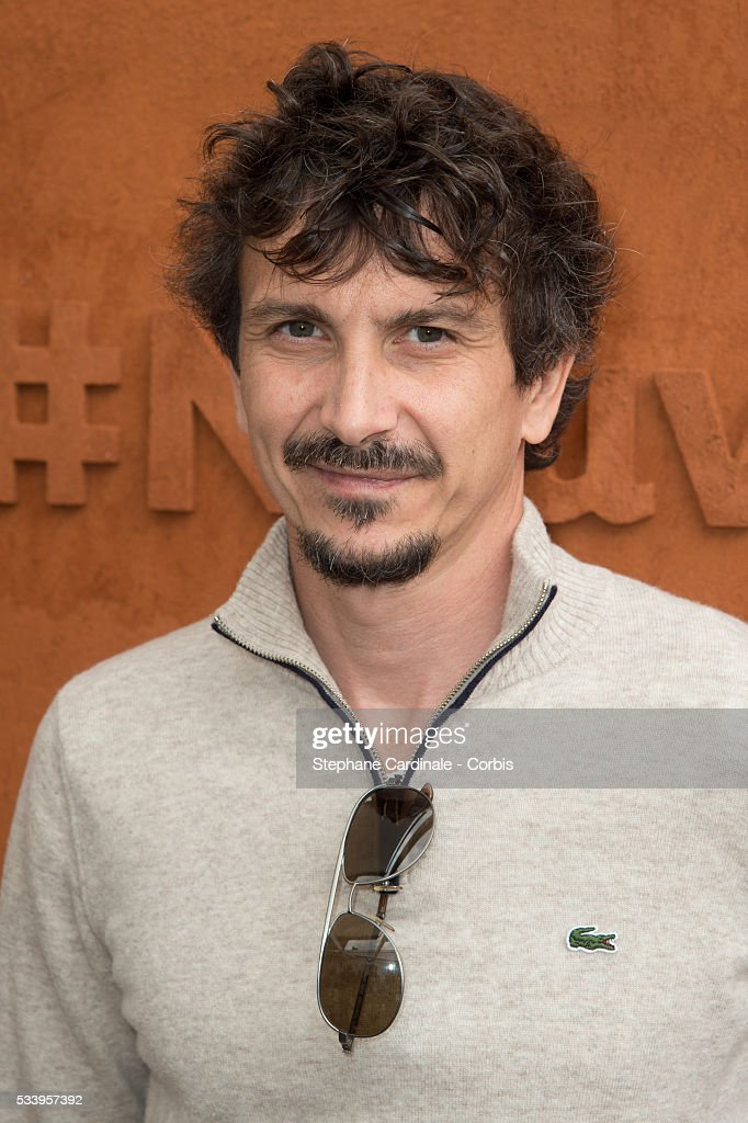 Arnaud Tsamere attends the 2016 French tennis Open day 3, at Roland Garros on May 24, 2016 in Paris, France.