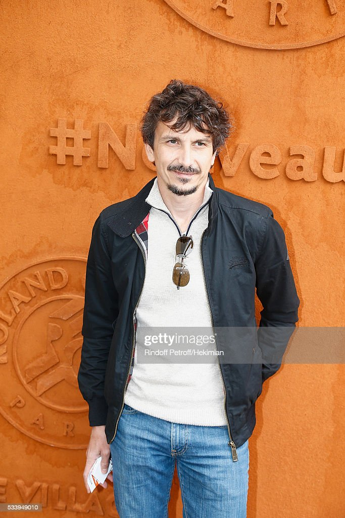 Arnaud Tsamere attends the 2016 French Tennis Open - Day Three at Roland Garros on May 24, 2016 in Paris, France.