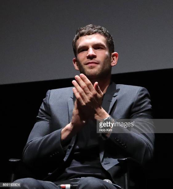 Arnaud Valois attends the QA for the screening of 'BPM ' during the 55th New York Film Festival at Alice Tully Hall on October 8 2017 in New York City