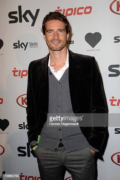 Arne Friedrich attends the Sky Bundesliga Season Opening Party at Heart on August 9 2013 in Munich Germany