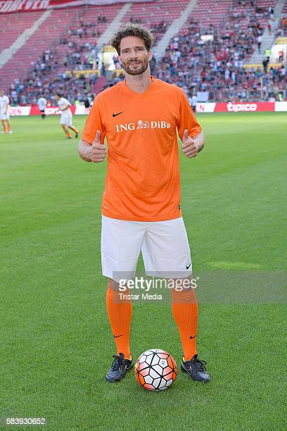Arne Friedrich during the 'Champions for charity' football match between Nowitzki All Stars and Nazionale Piloti in honor of Michael Schumacher at...