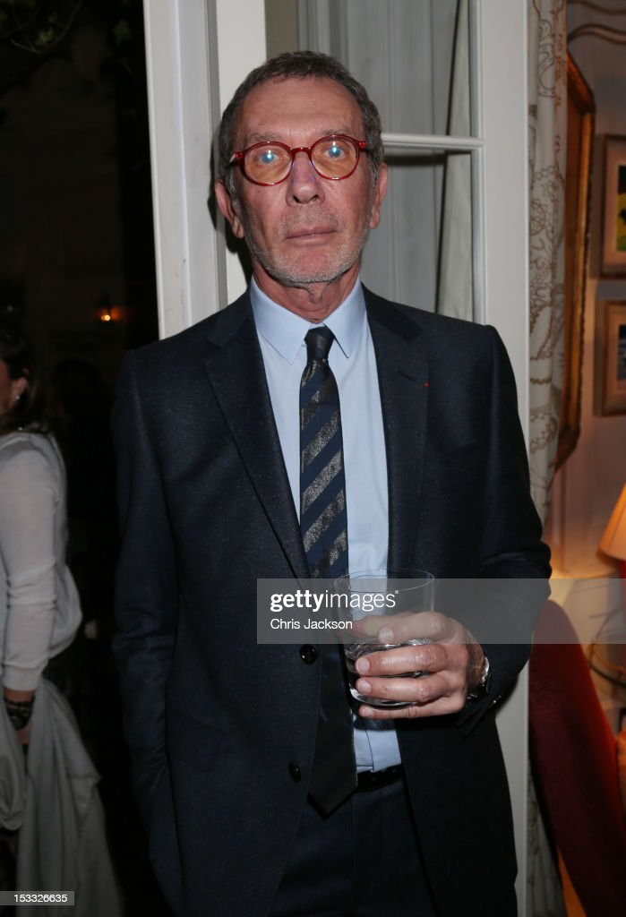 Arne Glimcher attend as dinner at 5 Hertford Street to celebrate Pace London's opening on October 3, 2012 in London, England. The dinner followed the Private View of the exhibition Rothko/Sugimoto: Dark Paintings and Seascapes at the new Pace London Gallery, 6 Burlington Gardens.