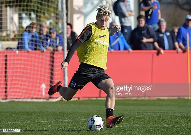 Arne Maier of Hertha BSC during the training camp on January 8 2017 in Palma de Mallorca spain