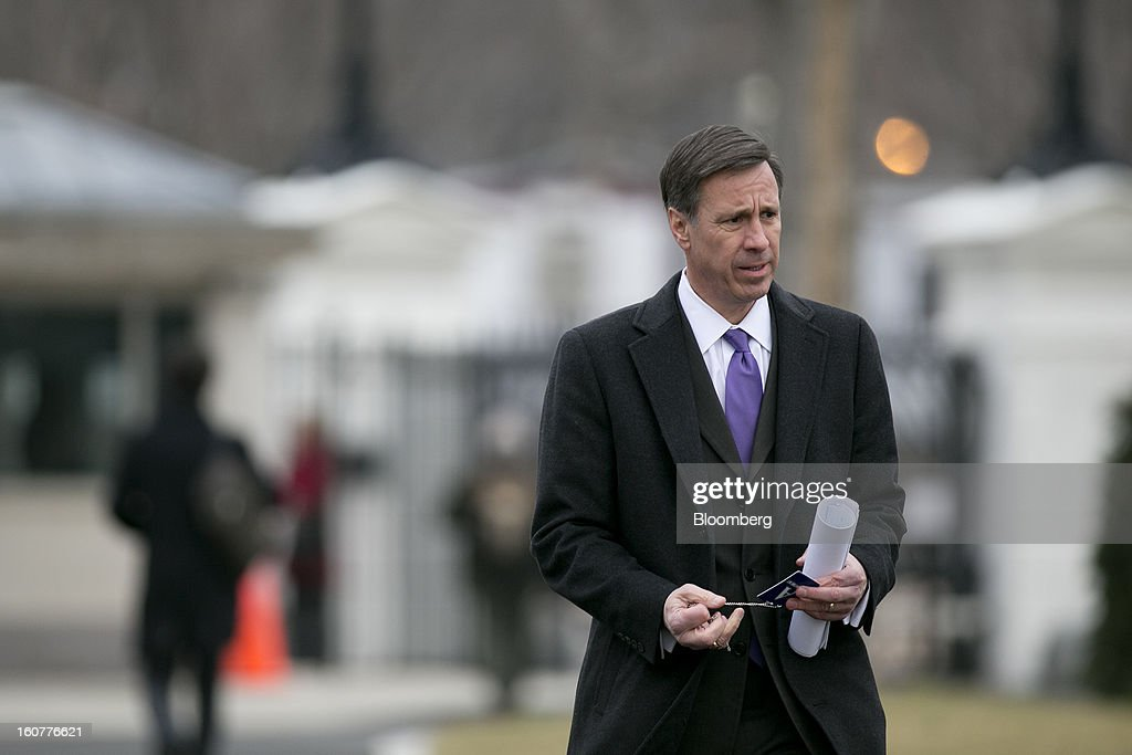 Arne Sorenson, president and chief executive officer of Marriott International Inc., arrives to the White House to meet with U.S. President Barack Obama in Washington, D.C., U.S., on Tuesday, Feb. 5, 2013. U.S. Obama urged Congress to postpone automatic spending cuts scheduled to begin March 1 to avoid 'real and lasting impacts' on U.S. economic growth. Photographer: Andrew Harrer/Bloomberg via Getty Images