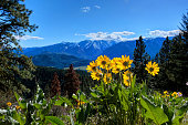 Sauer's Mountain. Central Cascade Mountains. Leavenworth. Seattle. Washington. The United States.