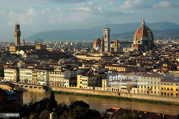 Arno river and Firenze