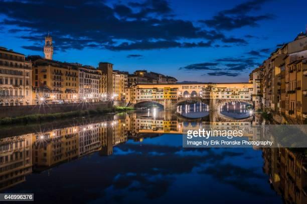 Arno River and the Ponte Vecchio
