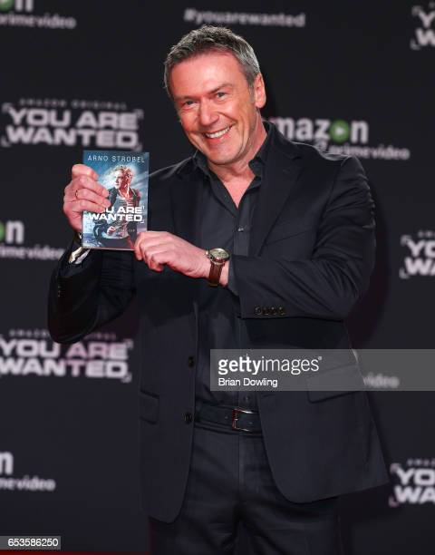 Arno Strobel arrives at Amazon Prime Video's premiere of the series 'You are Wanted' at CineStar on March 15 2017 in Berlin Germany