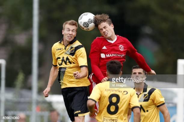 Arno Verschueren of NAC Breda Sven Braken of Almere City Mounir El Allouchi of NAC Breda Menno Koch of NAC Breda before the UEFA Europa League final...