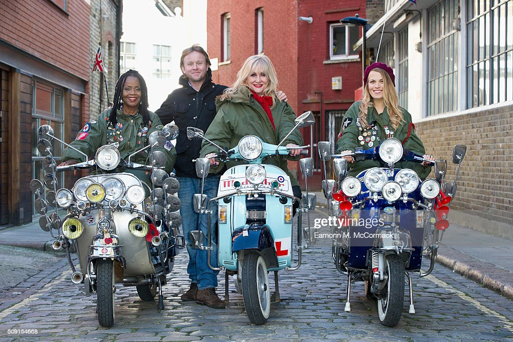 PP Arnold, Chris Simmons, Carol Harrison and Mollie Marriott pose at Photocall for 'All Or Nothing' on February 9, 2016 in London, England.