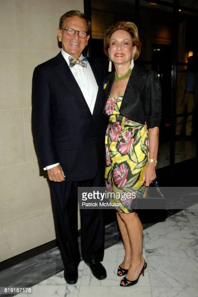 Arnold Cohen and Bryn Cohen attend LINDA and GREG'S 45th Wedding Anniversary Celebration at Cafe Boulud on July 27th 2010 in New York City