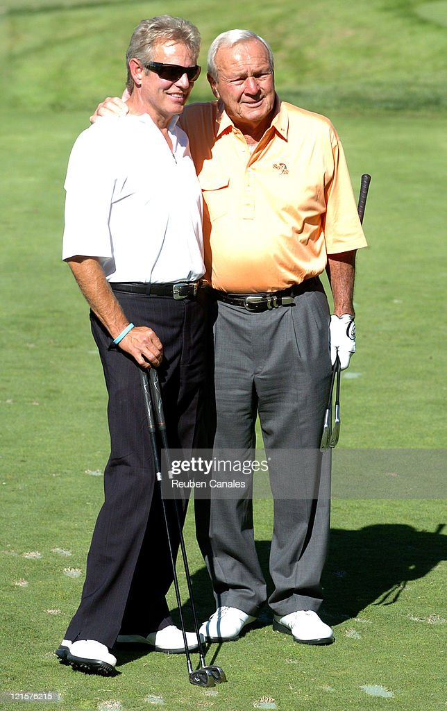 <a gi-track='captionPersonalityLinkClicked' href=/galleries/search?phrase=Arnold+Palmer&family=editorial&specificpeople=93096 ng-click='$event.stopPropagation()'>Arnold Palmer</a> and <a gi-track='captionPersonalityLinkClicked' href=/galleries/search?phrase=Don+Felder&family=editorial&specificpeople=640659 ng-click='$event.stopPropagation()'>Don Felder</a> at the Golf Digest Celebrity Invitational to support the Prostate Cancer Foundation held at the Wilshire Country Club in Los Angeles, California on November 6, 2006.