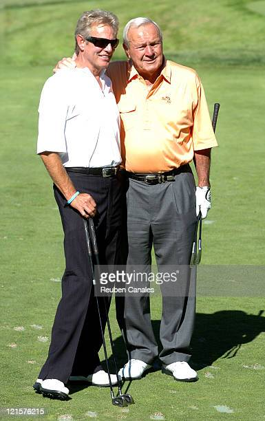 Arnold Palmer and Don Felder at the Golf Digest Celebrity Invitational to support the Prostate Cancer Foundation held at the Wilshire Country Club in...