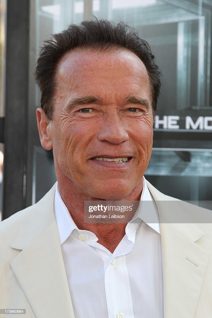 <a gi-track='captionPersonalityLinkClicked' href=/galleries/search?phrase=Arnold+Schwarzenegger&family=editorial&specificpeople=156406 ng-click='$event.stopPropagation()'>Arnold Schwarzenegger</a> attends the 'Escape Plan' Premiere - Comic-Con International 2013 at Reading Cinemas Gaslamp on July 18, 2013 in San Diego, California.