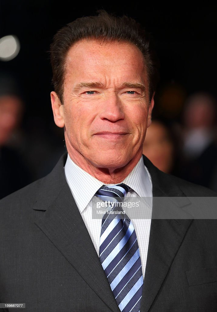 <a gi-track='captionPersonalityLinkClicked' href=/galleries/search?phrase=Arnold+Schwarzenegger&family=editorial&specificpeople=156406 ng-click='$event.stopPropagation()'>Arnold Schwarzenegger</a> attends the European Premiere of The Last Stand at Odeon West End on January 22, 2013 in London, England.