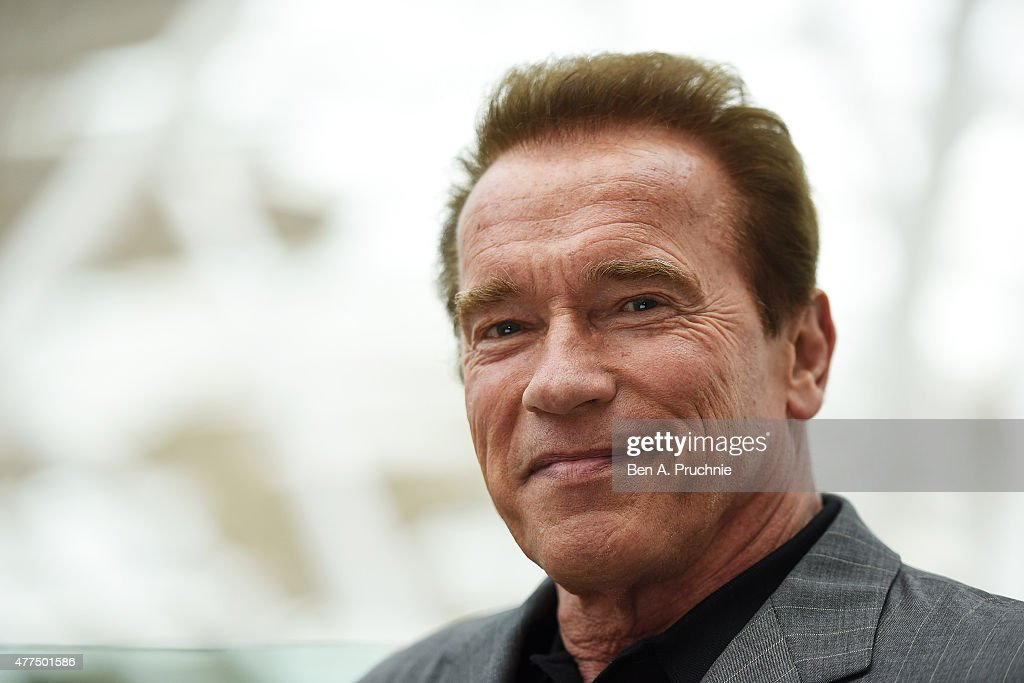 <a gi-track='captionPersonalityLinkClicked' href=/galleries/search?phrase=Arnold+Schwarzenegger&family=editorial&specificpeople=156406 ng-click='$event.stopPropagation()'>Arnold Schwarzenegger</a> attends the Fan Footage Event of 'Terminator Genisys' at Vue Westfield on June 17, 2015 in London, England.