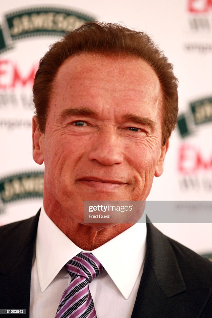 <a gi-track='captionPersonalityLinkClicked' href=/galleries/search?phrase=Arnold+Schwarzenegger&family=editorial&specificpeople=156406 ng-click='$event.stopPropagation()'>Arnold Schwarzenegger</a> attends the Jameson Empire Film Awards at The Grosvenor House Hotel on March 30, 2014 in London, England.