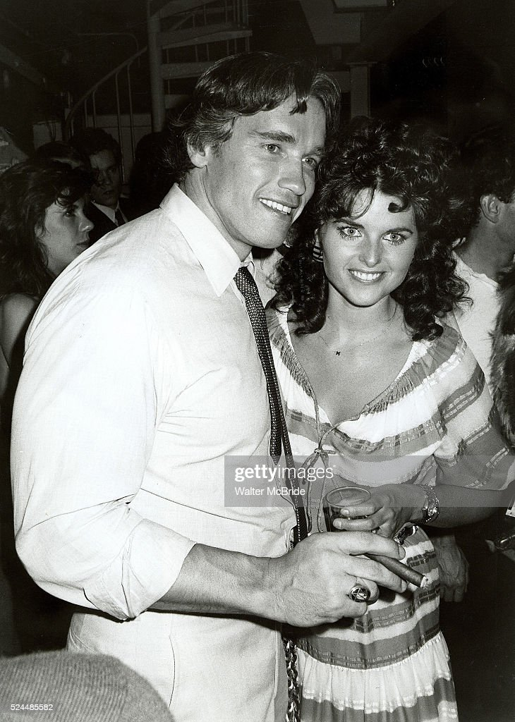 Studio 54, Conan the Barbarian Movie  Celebration Arnold-schwarzenegger-girlfriend-maria-shriver-at-studio-54-in-new-picture-id524485582