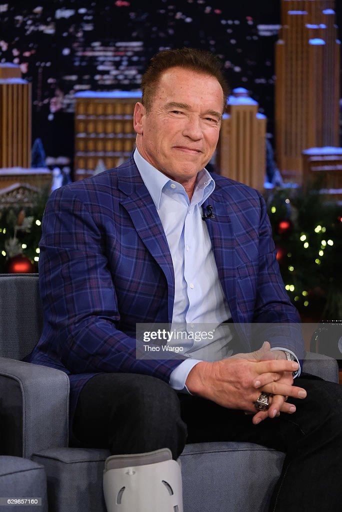 "Arnold Schwarzenegger Visits ""The Tonight Show Starring Jimmy Fallon"""