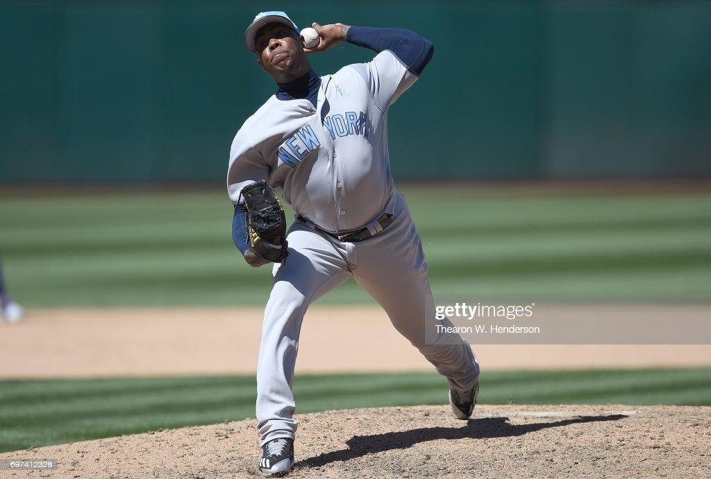 Los Yankees activaron al cerrador Aroldis Chapman