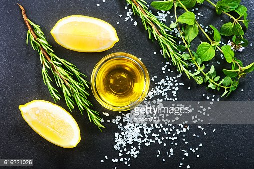 aroma spice on a table : Bildbanksbilder