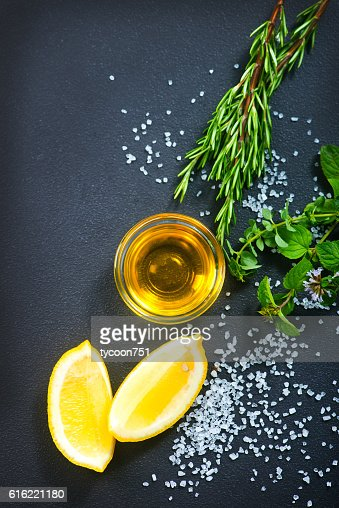 aroma spice on a table : Stock-Foto