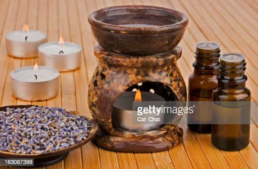 Aromatherapy : Stock Photo