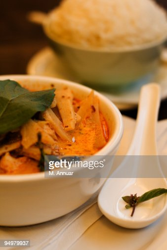 Aromatic Thai Panang Curry : Stock Photo
