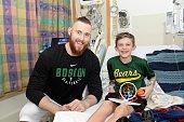 Aron Baynes Brings Smiles To Patients At Boston...