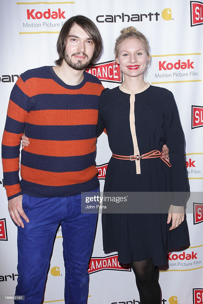 Aron Lehmann and Rosalie Thomas attend the Slamdance Film Festival at Slamdance Public House on January 20, 2013 in Park City, Utah.