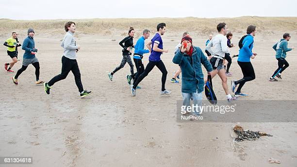 Around 10000 runners are running this Half Marathon on January 8th in the Dutch city of Egmond aan Zee This run has built a reputation during the...