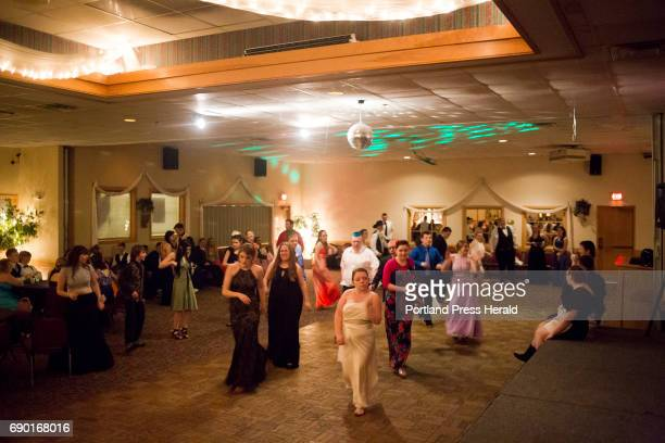 Around 8085 students came to Carrabec High School's prom nearly half the school at Tb Celebration Center The prom which is put on by the junior class...