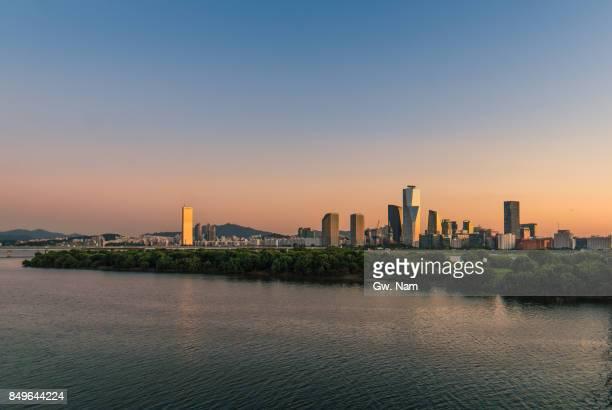 around Han river, Seoul, 2017