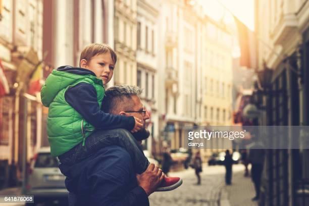 Rund um die Stadt mit meinem Vater