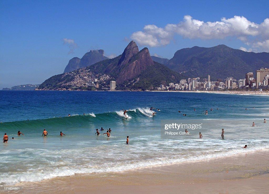 Arpoador / Ipanema Beach, Rio de Janeiro.