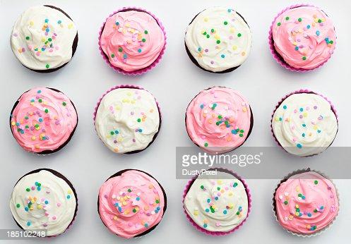 cupcake stock fotos und bilder getty images. Black Bedroom Furniture Sets. Home Design Ideas