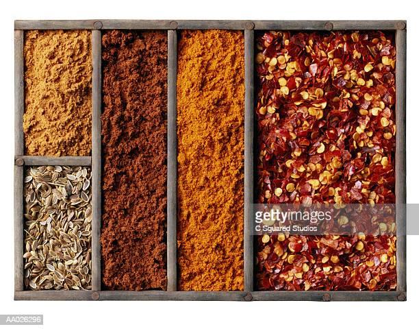 Arrangement of Dried Spices