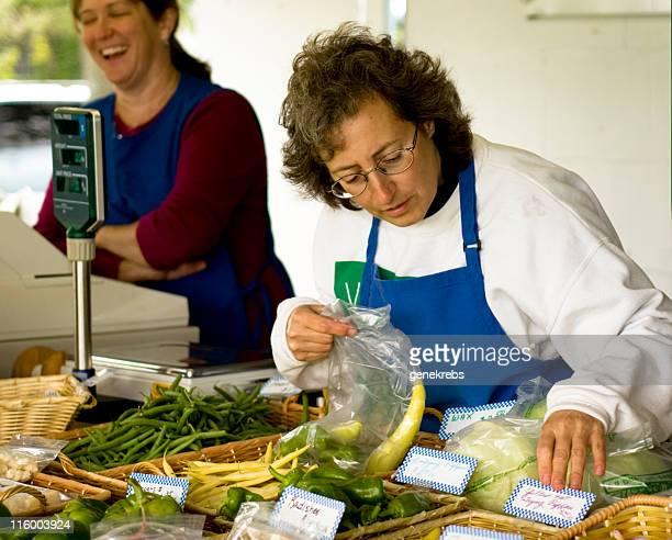 Arranging Fresh Produce