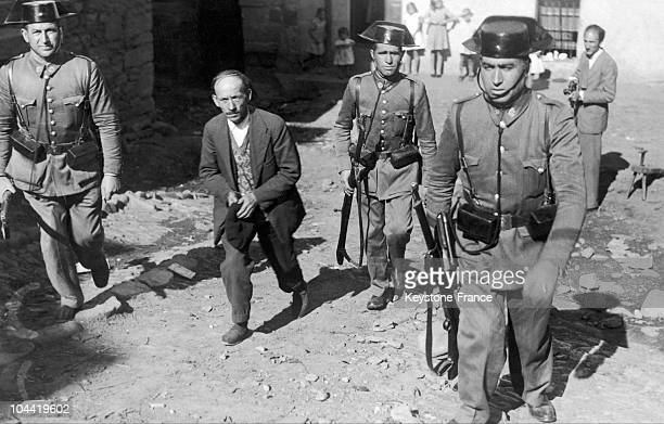Arrest Of The Leader Of The Asturias' Revolt In 1934