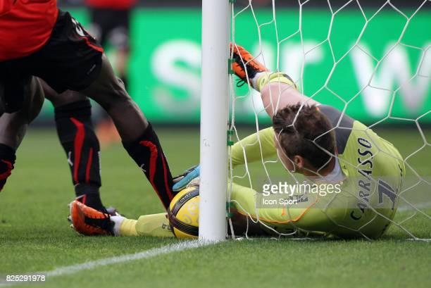 Arret de Cedric CARRASSO Rennes / Bordeaux 33e journee de Ligue 1