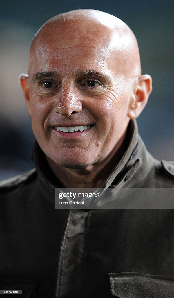 Arrigo Sacchi attends the charity football match between Milan Glorie and Brescia Glorie at the Rigamonti stadium on April 03, 2009 in Brescia, Italy. The event is in support of the charity organization Fondazione Stefano Borgonovo, the former A.C. Milan and A.C. Fiorentina striker affected by Sla