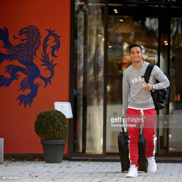 Arrival Justin Kluivert of Holland U21 during the match between Arrival Holland U21 at the KNVB campus at the KNVB Campus on November 7 2017 in Zeist...